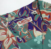 "No.SS37792SUNSURFサンサーフS/SRAYONHAWAIIANSHIRT""ORCHIDANDHAWAIIANTRADITION"""