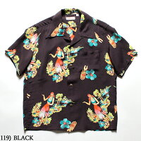 "No.SS38033SUNSURFサンサーフS/SRAYONHAWAIIANSHIRT""BEINGTODANCEHULA"""