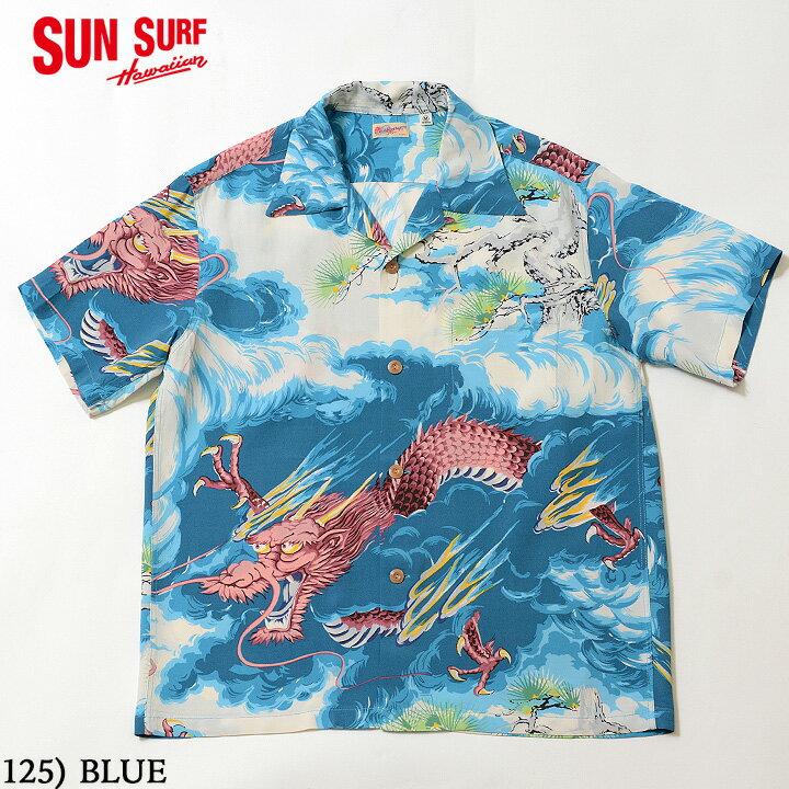 トップス, カジュアルシャツ No.SS38564 SUN SURF SS RAYON HAWAIIAN SHIRTDRAGON