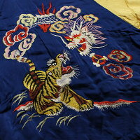 "No.TT13923TAILORTOYOテーラートーヨーSOUVENIRJACKETSPECIALEDITION""Dragon&Tiger×JapanMapPrint"""
