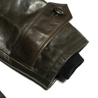 No.BR80382BUZZRICKSON'SバズリクソンズAVIATIONASSOCIATESLEATHERCOASTGURDCOAT