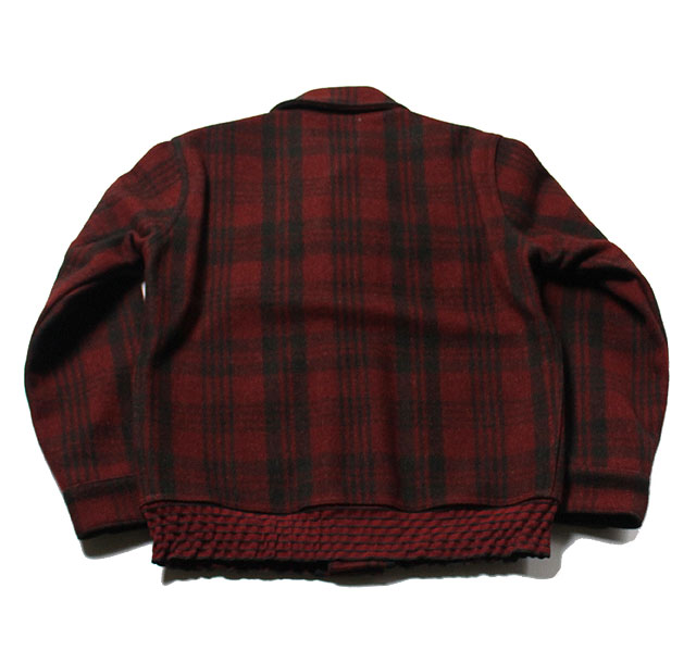 No.BR13579 BUZZ RICKSON'S バズリクソンズJACKET,WOOL RED PLAID
