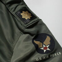 "No.BR13889BUZZRICKSON'SバズリクソンズTypeL-2B""TopsApparelMfg.Co.,Inc.""18thTAC.RECON.SQ."