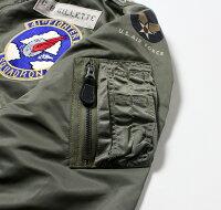 "No.BR14196BUZZRICKSON'SバズリクソンズTypeL-2B""TOPSAPPARELMFG.CO.INC.""41stFTR.INTCP.SQ."