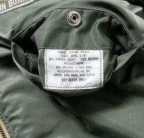 "No.BR14181BUZZRICKSON'SバズリクソンズTypeL-2B""BUZZRICKSONMFG.CO.,INC.""H-TYPE433rdTAC.FTR.SQ."
