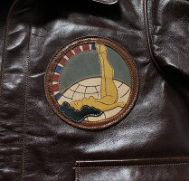 "No.BR80506BUZZRICKSON'SバズリクソンズA-2No.23380ROUGHWEARCLOTHINGCO.""AIRTRANSPORTCOMMANDPATCH"""