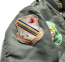"No.BR14350BUZZRICKSON'SバズリクソンズTypeL-2B""TOPSAPPARELMFG.CO.INC.""560thTAC.FIGHTERSQ."