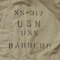 "No.BR14549BUZZRICKSON'SバズリクソンズTypeN-1Khaki""NAVYDEPARTMENT""SS-317BARBERO"
