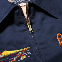 No.BR14416BUZZRICKSON'SバズリクソンズEMBROIDEREDSOUVENIRJACKET,COTTON-RAYON