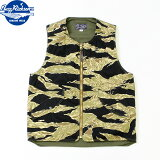 No.BR14673BUZZRICKSON'SバズリクソンズGOLDTIGERCAMOUFLAGEPATTERNVEST