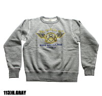 """No.BR67884BUZZRICKSON'SバズリクソンズSET-INCREWSWEAT""""388thBOMB.GROUP"""""""