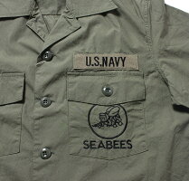 "No.BR37817BUZZRICKSONS×PEANUTSバズリクソンズVIET-NAMSHIRT""SEABEES"""