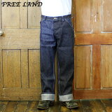 No.FL41964FREELANDフリーランド12oz.BLUEDENIMWORKPANTS