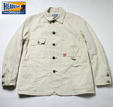 No.HD14121HEADLIGHTヘッドライトWHITEBOATSAILDRILLWORKCOAT