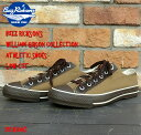 """No.BR01593 BUZZ RICKSON'SWilliam Gibson Cllection""""ATHLETIC SHOES""""LOW CUT MODEL"""