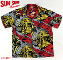 """No.SS36655 SUN SURF Special EditionS/S SHIRTS""""GAUGUIN WOODCUT MYSTIC"""""""
