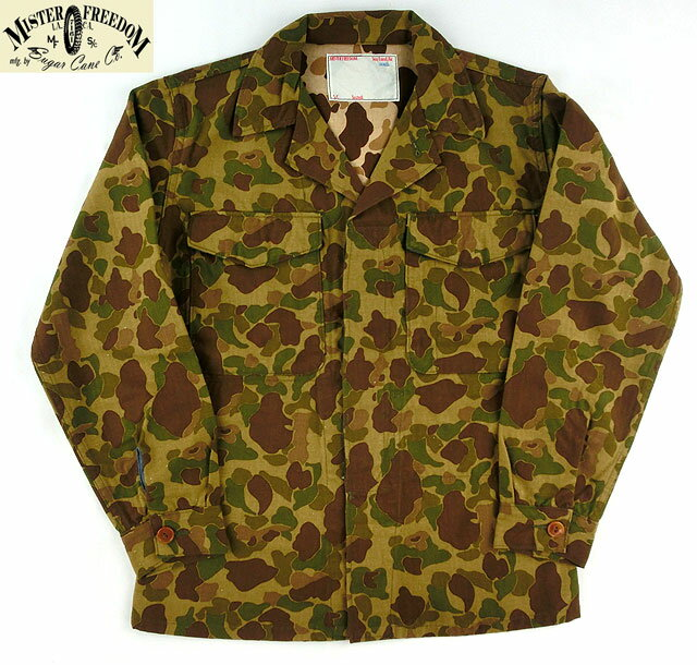 "No.SC13186 MFSC ミスターフリーダムSEA HUNTM1942""FROG SKIN""MAP SHIRT:Junky Special"