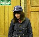 No.SC02401 SUGAR CANE LIGHT シュガーケーンライトWORK FABRIC BASEBALL CAP
