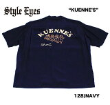 "No.SE37552STYLEEYESスタイルアイズROYONBOWLINGSHIRTW/CHAINEMB'D""KUENNE'S"""