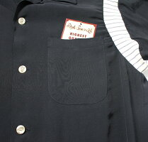 """No.SE37801STYLEEYESスタイルアイズRAYONBOWLINGSHIRT""""RIBSWITCHED"""""""