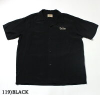"No.SE37797STYLEEYESスタイルアイズRAYONBOWLINGSHIRTW/CHAINEMB'D""PLAIN"""