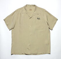 "No.SE38076STYLEEYESスタイルアイズRAYONBOWLINGSHIRT""LARKS"""