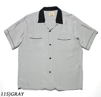 """No.SE38073STYLEEYESスタイルアイズRAYONBOWLINGSHIRT""""TWOTONE"""""""