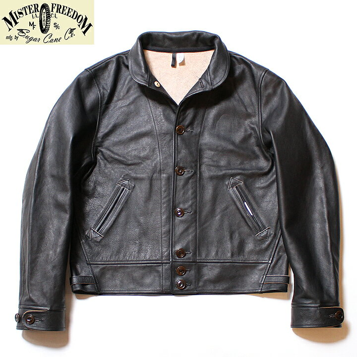 メンズファッション, コート・ジャケット No.SC80551 MFSC Made in U.S.A.COWHIDE LEATHER STALLION CAMPUS JACKET
