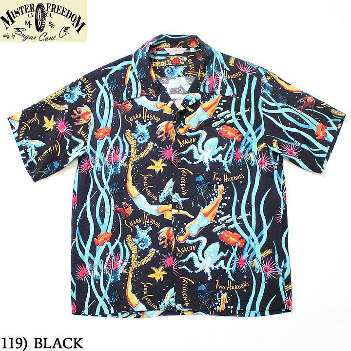 トップス, カジュアルシャツ No.SC38360 MISTER FREEDOM SUN SURFROCKNROLL SHIRTCATALINA