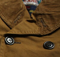 No.SC13999SUGARCANEシュガーケーンFICTIONROMANCE13oz.BROWNCANVASMACKINAWCOAT