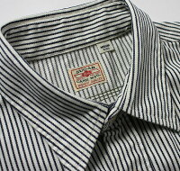No.SC37909SUGARCANEシュガーケーンHICKORYSTRIPES/SWORKSHIRTW/EMB'D