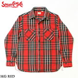 No.SC28501SUGARCANEシュガーケーンTWILLCKECKWORKSHIRT