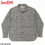 No.SC28504SUGARCANEシュガーケーンLIGHTFLANNELCKECKWORKSHIRT