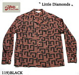 "No.SH27880STAROFHOLLYWOODL/SOPENSHIRT""LITTLEDIAMONDS"""