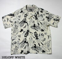 "No.SH37872STAROFHOLLYWOOD×VINCERAYHIGHDENSITYRAYONSHIRT""WILDWILDWEST!"""