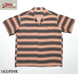 "No.SH38122STAROFHOLLYWOODRAYONOPENSHIRT""GRADATIONSTRIPES"""