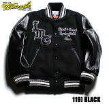 "No.WV13984WHITESVILLE×INDIANMOTORCYCLE30oz.WoolMeltonAwardJacket""INDIANMOTORCYCLE"""