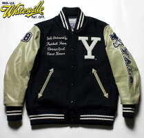 "No.WV14219WHITESVILLEホワイツビル30oz.WoolMeltonAwardJacket""YALE"""
