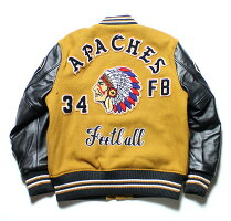"No.WV14214WHITESVILLEホワイツビル30oz.WoolMeltonAwardJacket""APACHES"""