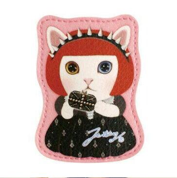 猫 ネコ イヤホンコードホルダー イヤホンコードリール コード巻き取りホルダー イヤホンアクセサリー choochoo jetoy チューチュー 韓国 雑貨 dolly winder-Chic 原宿