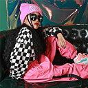 キッズ ダンス 衣装 キッズダンス衣装 子供 ヒップホップ シャツ ギンガムチェック 男の子 サルエルパンツ 女の子 ダンス衣装 ジャズダンス ステージ衣装 チェック衣装 3