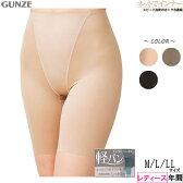 GUNZE(グンゼ)軽パン 婦人39cm丈ガードル 年間[M、L、LLサイズ]【あす楽対応商品】