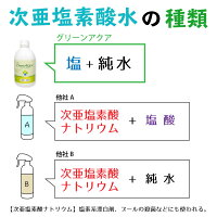 次亜塩素酸水グリーンアクア