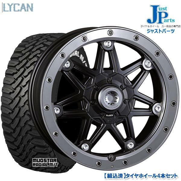 タイヤ・ホイール, サマータイヤ・ホイールセット  21560R17 109107R MUDSTAR RADIAL MT 4 Crimson MG LYCAN17 7.0J 38 6H139.7