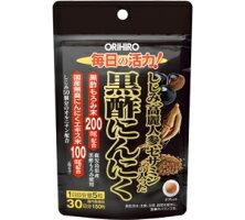 【送料無料】しじみ高麗人参セサミンの入った黒酢にんにく150粒入|30日分|オリヒロ