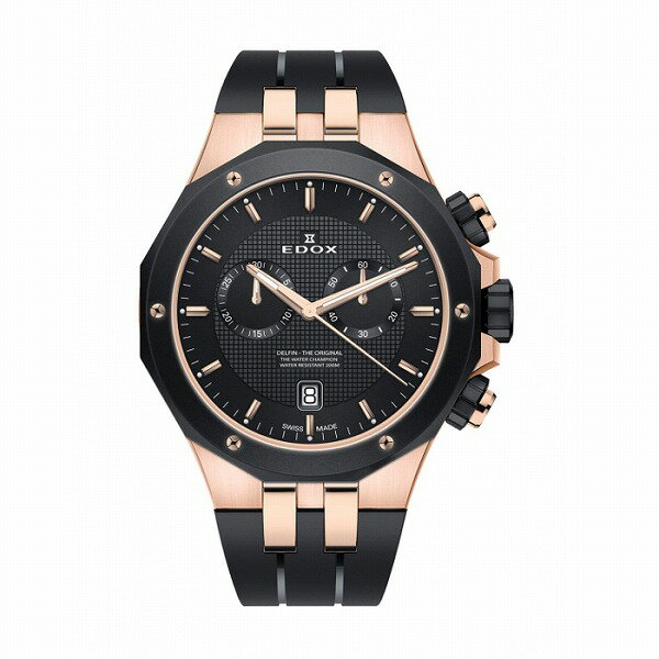 腕時計, メンズ腕時計 43 EDOX 10110-357RNCA-NIR