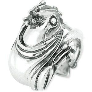 CLANG-CLANG クラングクラング シルバー リング 指輪 ホワイト 彼氏 メンズ
