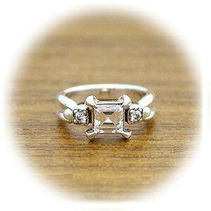 CLANG-CLANG クラングクラング シルバー リング 指輪 キュービック ホワイト 彼女 レディース