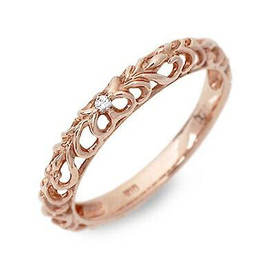 Anne Bonny アンボニー ピンクゴールド リング 指輪 ダイヤモンド ピンク 20代 30代 楽ギフ_包装 smtb,m  クラシカルな雰囲気の漂う繊細な細工が美しいデザインリング。