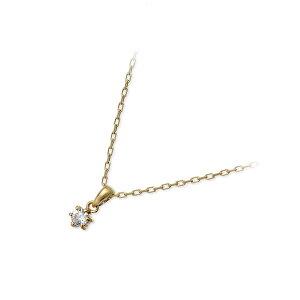 送料無料VAVendomeAoyamaゴールドネックレスダイヤモンド一粒ギフトラッピング20代30代彼女レディース女性誕生日記念日プレゼントヴイエーヴァンドームアオヤマヴイエーヴァンドームアオヤマ